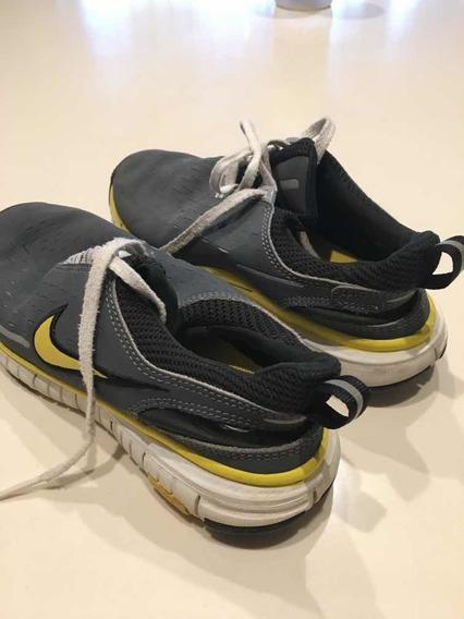 Zapatillas Nike Free T.35 Eur -ver Nota X Talles - Impecab