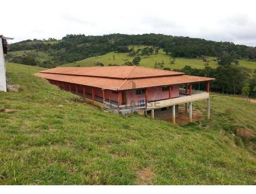 Fazenda/pousada Com 17 Dormitórios À Venda, 1452000 M² Por R$ 8.500.000 - Dos Goes - Tapiraí/sp - Fa0015