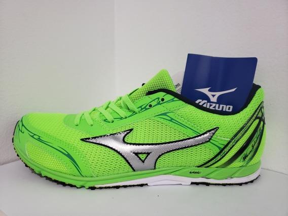 Tênis Mizuno Wave Ekiden 11 Masculino Maratona Verde Origina