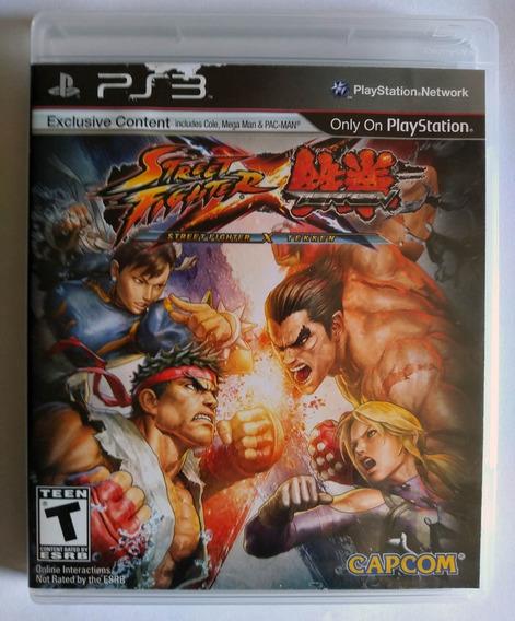 Street Fighter X Tekken Ps3 Mídia Física