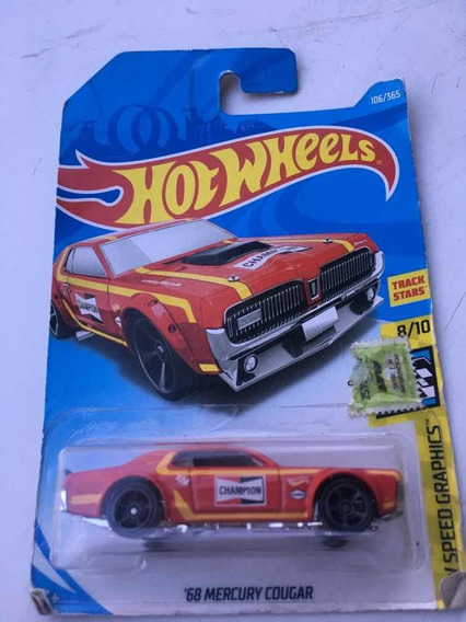 Hotwheels Mercury Cougar 68 Champion