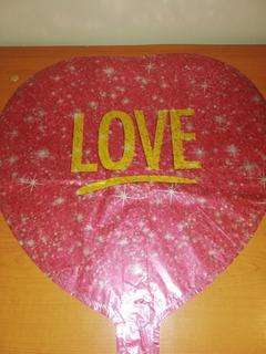 Globos Metalizados 18 Pulgadas Corazón, Cumpleaños, Amor