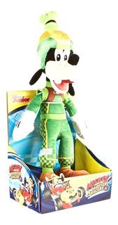 Peluche Goofy Aventura Sobre Ruedas 30cm Original Disney