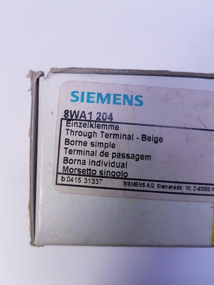 Conector Passagem Borne Sak 16mm Siemens 8wa1 204