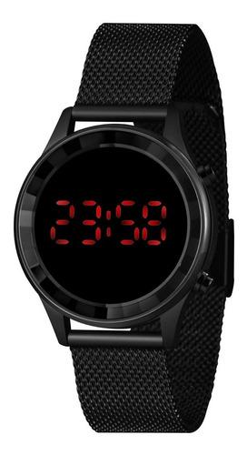 Imagem 1 de 7 de Relógio Lince Feminino Ldn4647l Pxpx Led Digital