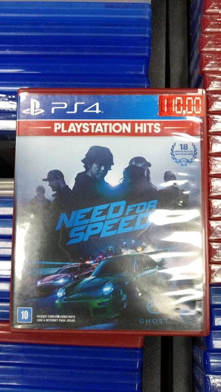 Need For Speed Ps4 (frete 18 Reais)