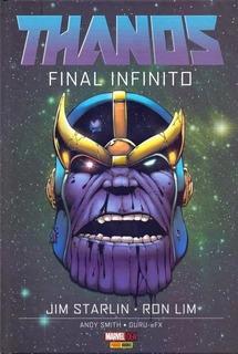 Hq Thanos Final Infinito Capa Dura Panini 2017