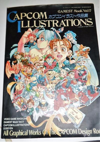 Capcom Ilustrations Gmast Mook Vol 17 Japonês