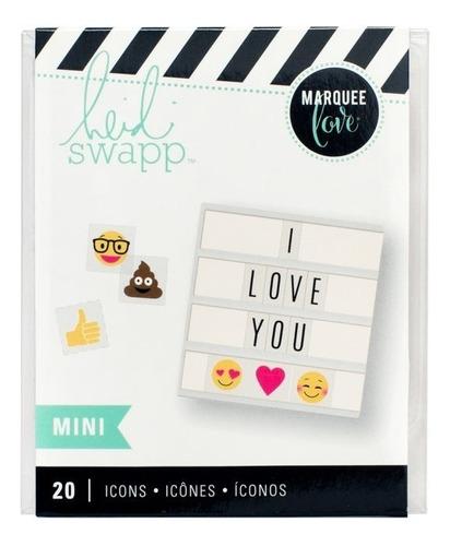 Heidi Swapp Mini Lightbox - Emojis