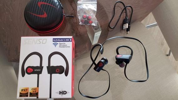Senso Bluetooth Wireless Headphones, Best Sports Earphones