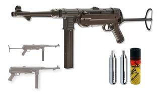 Rifle Legends Mp40 Bbs Y Co2 Umarex Metal Cal .177 Xtreme C