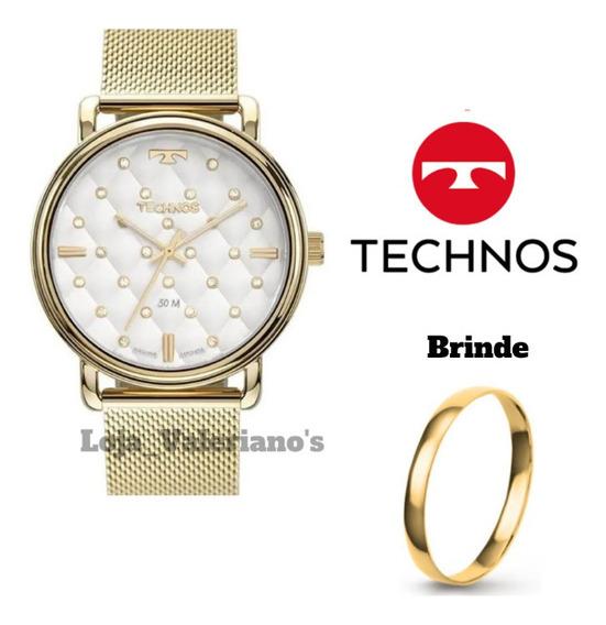 Relógio Technos Trend Feminino 2039co/4k Nf + Brinde