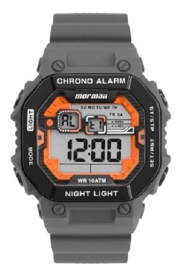 Relógio Original Monf007/8c Masculino Digital Mormaii