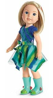 Muñeca American Girl Welliewishers Camille Doll Original