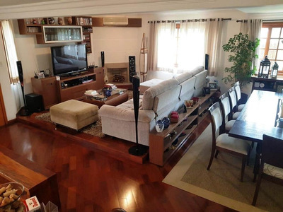 Belíssima Casa Com 4 Suítes À Venda, 356 M² Por R$ 3.195.000 - Brooklin - São Paulo/sp - Ca3393