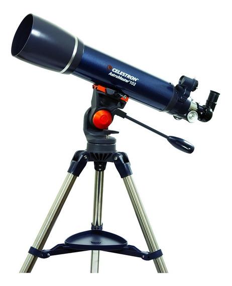 Telescopio Refractor Celestron Astromaster102az Aumento 241x