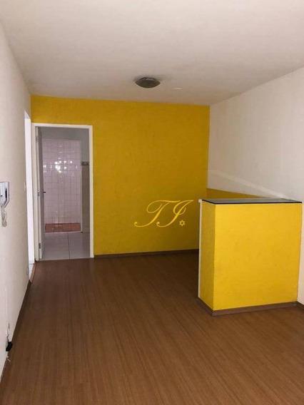 Apartamento Com 2 Dormitórios Para Alugar, 70 M² Por R$ 900,00/mês - Vila Leonor - Guarulhos/sp - Ap0012