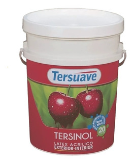 Tersuave Latex Interior Exterior Tersinol X 20 Lts Cargador