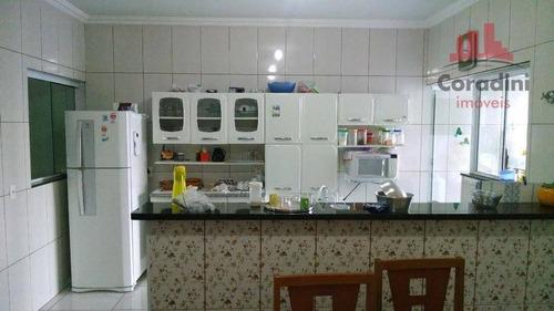 Imagem 1 de 15 de Casa Com 2 Dormitórios À Venda, 100 M² Por R$ 280.000 - Parque Nova Carioba - Americana/sp - Ca0587