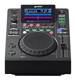 Gemini Mdj Series Mdj500 Audio Profesional Dj Reproductor Mu