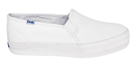 Tênis Keds Triple Decker Canvas Branco Kd78700238