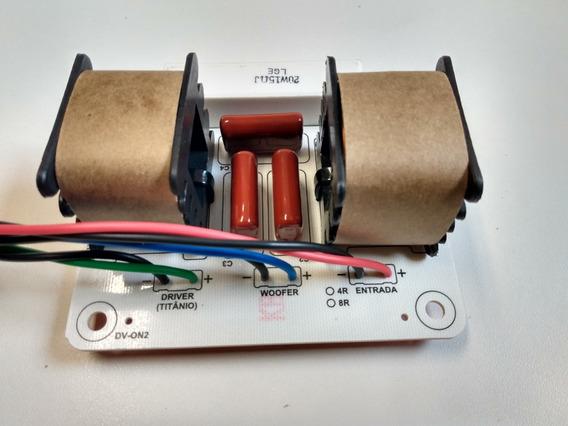 Divisor De Frequencia Full Range Duas Vias 300w 8 Ohms