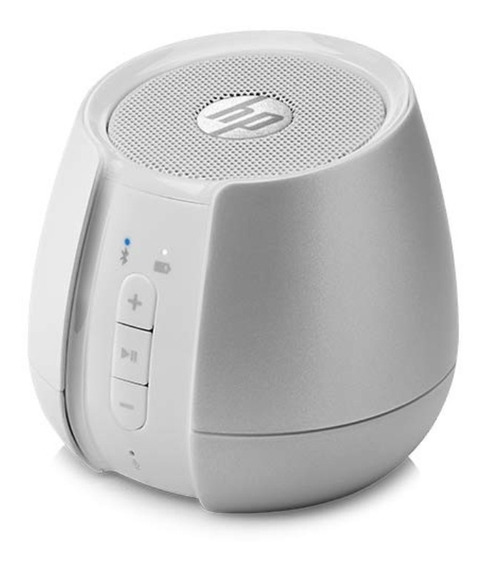 Speaker Hp S6500 Portátil Bluetooth Prata 2hm66aa