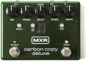 Mxr Carbon Copy Deluxe Novo Na Caixa