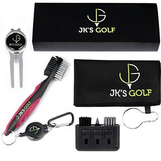 Kit De Pinceles De Golf - Set De Limpiadores De Palos De Gol