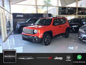 Jeep Renegade Sport Automatico 0km 2018 Nuevo Northville