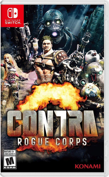 Contra Rogue Corps - Switch - Midia Fisica!