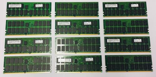 Memória Ibm 4gb Ddr2 Ecc 512mx72 Fru: 12r8994 312f 0746/0802