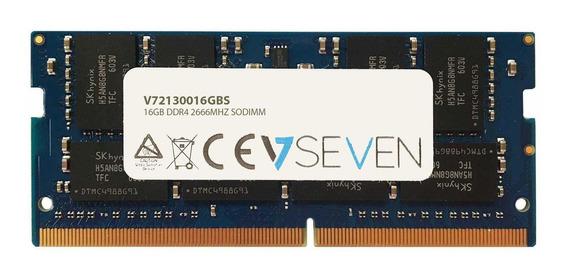Memoria Ram 16gb V7 Ddr4 Pc4-21300 - 2666mhz 1.2v So Dimm Modulo - V72130016gbs