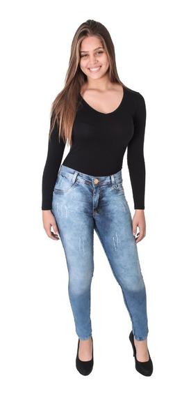 Calça Jeans Feminino Bbe 2097