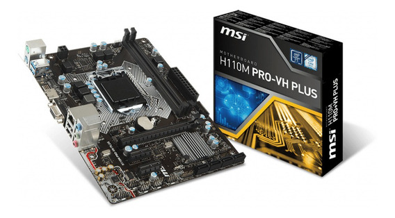Placa Mãe Msi H110m Pro-vh Plus Ddr4