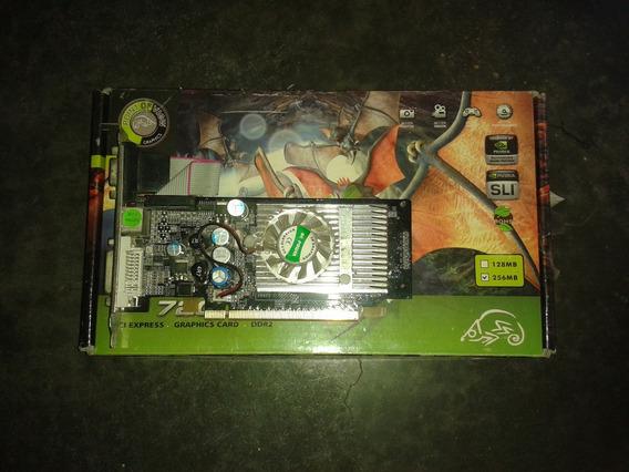 Tarjeta De Video Pci-e 256 Mb Gf-7300gs Para Reparar