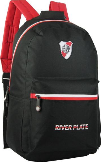 Mochila River Plate 17p Espalda Licencia Oficial Original