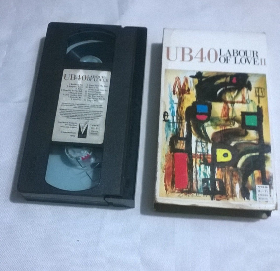 Cassete Vhs Ub40 Labour Of Love 2 Original 5s