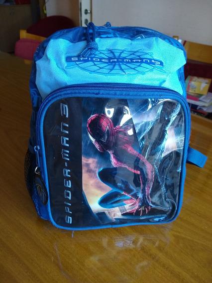 Mochila Escolar Spiderman 3 - Sin Uso