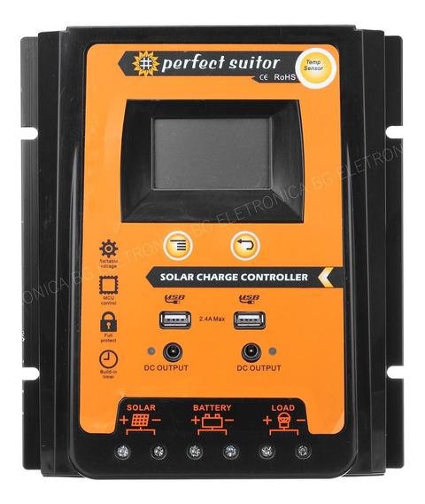 Controlador Carga Solar 50a 12v 24v Perfect Suitor