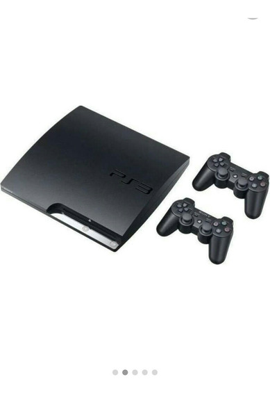 Ps3 Slim ( Semi -novo) Acompanha 2 Controles E Vários Jogos