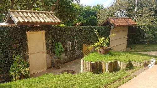 Chácara À Venda, 1000 M² Por R$ 830.000,00 - Residencial Alvorada - Araçoiaba Da Serra/sp - Ch0476