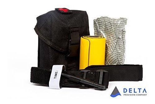 Delta Provision Co. Trauma Kit De Herramientas Bolsa Táct