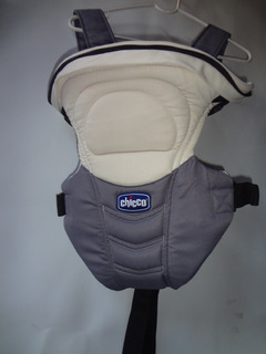 Chicco Canguro Soft & Dream 3 Posiciones Blanco Y Gris