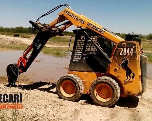 Accesorio Retro Excavadora - Para Mini