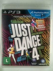 Jogo Just Dance 4 Ps3. Mídia Física