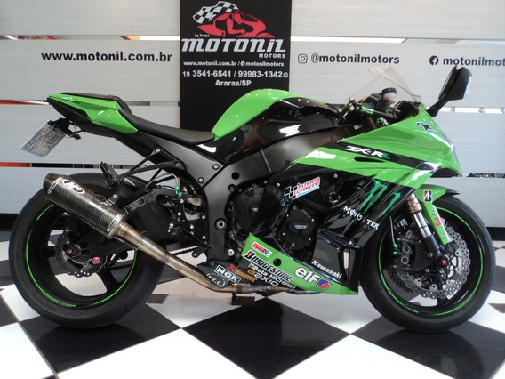 Kawasaki Ninja Zx10 R Verde 2011