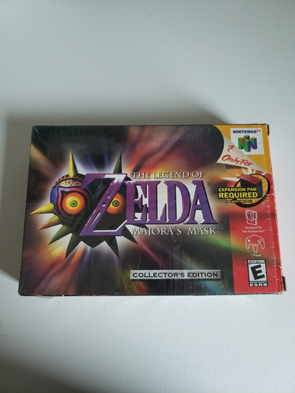 The Legend Of Zelda Majoras Mask Em Ótimo Estado