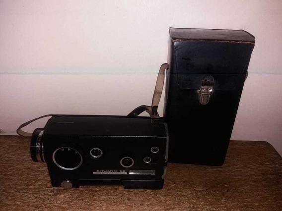 Filmadora Super 8 Kodak Instamatic Completa (não Funciona)