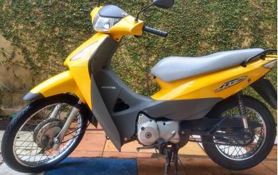 Honda Bis 125 Carburada Com Partida Elétrica